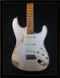 Fender Custom Shop 1958 Stratocaster Heavy Relic in Aged White Blonde