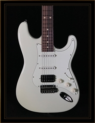Suhr Classic S in Olympic White with HSS Pickup Configuration and Rosewood Fretboard
