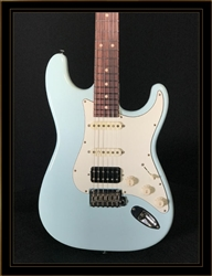 Suhr Classic S Antique in Sonic Blue with HSS Pickup Configuration and Rosewood Fretboard