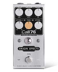 Origin Effects Cali76 Stacked Edition Compact Deluxe Studio-Style Compression Pedal
