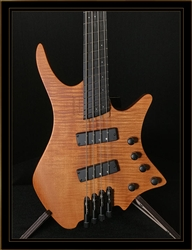 Strandberg Boden Bass Prog 4 in Transparent Brown