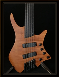 Strandberg Boden Bass Prog 5 in Transparent Brown