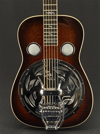 Beard Jerry Douglas Signature Squareneck Resonator with Hipshot Doubleshot Bridge and Fishman Electronics