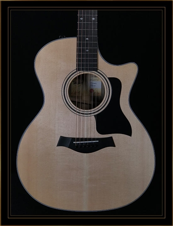 Taylor 414CE NAMM Limited Edition in Black Limba