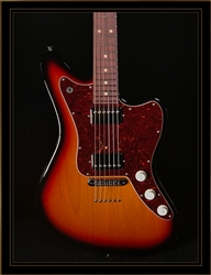 Suhr Classic JM in 3-Tone Burst HH with TP6 Stoptail Bridge