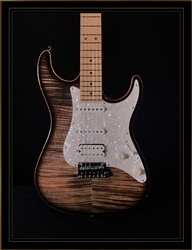Suhr Standard Plus HSS in Transparent Charcoal with Maple Fingerboard