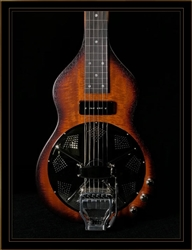 Beard Road-O-Phonic Resonator Lap Steel with Doubleshot Bridge