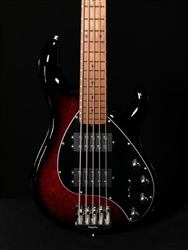Ernie Ball Music Man Stingray Special 5 HH in Burnt Apple