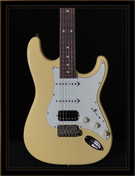 Suhr Classic S Antique in Vintage Yellow with HSS Pickup Configuration and Rosewood Fretboard