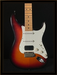 Suhr Classic S Antique in 3-Tone Sunburst with HSS Pickup Configuration and Maple Fretboard