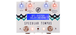 GFI System Specular Tempus Reverb and Delay Pedal