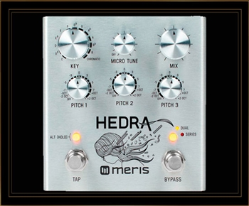 Meris Hedra 3-Voice Rhythmic Pitch Shifter Pedal