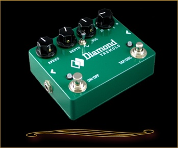 Diamond TRM-1 Analog Tremolo Pedal with Tap Tempo