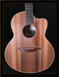 Lowden BAR-35FF Baritone Fan-Fret in Walnut with Sitka Spruce Top