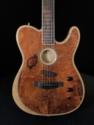 Fender American Acoustasonic Telecaster Exotic Series with Koa Top