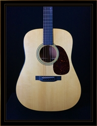 Martin Custom Shop Mahogany Dreadnought with VTS Adirondack Spruce Top