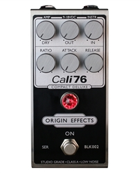 Origin Effects Cali76 Compact Deluxe Limited Edition Inverted Black