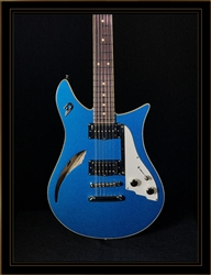 Duesenberg Double Cat 12-String in Catalina Blue