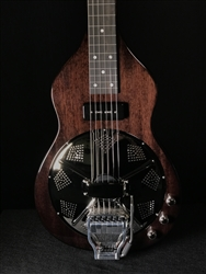 Beard Road-O-Phonic Resonator Lap Steel with Doubleshot Bridge in Black Ice