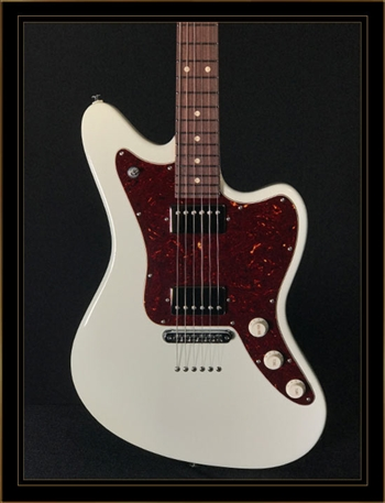 Suhr Classic JM in Olympic White HH with TP6 Stoptail Bridge
