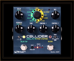 Source Audio Collider Delay+Reverb Pedal