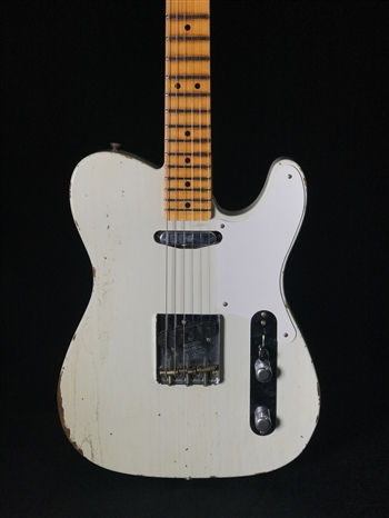 Fender Custom Shop Limited Roasted Pine Double Esquire Relic in 55 Desert Tan