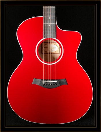 Taylor 214CE-RED Deluxe Grand Auditorium