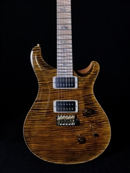 PRS Wood Library Custom 24 in Yellow Tiger with Maple Neck and Fretboard