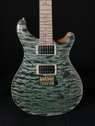 PRS Wood Library Custom 24 Quilt in Trampas Green with Maple Neck and Fretboard