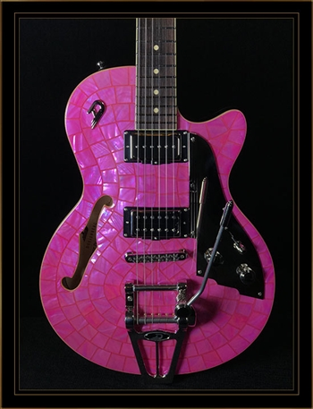 Duesenberg Starplayer TV in Pink Pearl