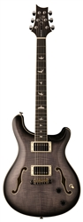 PRS SE Hollowbody II in Charcoal Burst