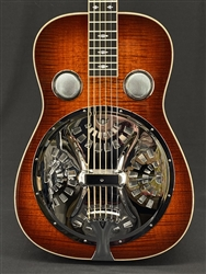 Beard E-Model Squareneck Resonator in Amber Sunburst with Fishman Electronics