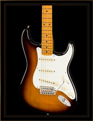 Fender Stories Collection Eric Johnson 1954 Virginia Stratocaster in 2-Color Sunburst