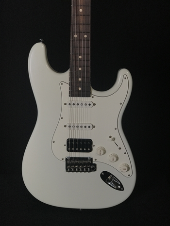 Suhr Classic S Antique in Olympic White with HSS Pickup Configuration and Rosewood Fretboard