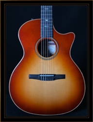 Taylor 714CE-N Nylon String with Western Sunburst Top