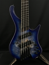 Ibanez EHB1505MS 5-String Bass in Pacific Blue Burst Flat