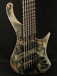 Ibanez EHB1506MS 6-String Bass in Black Ice Flat