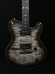Nik Huber Dolphin II in Charcoal Burst with Dolphin Inlays