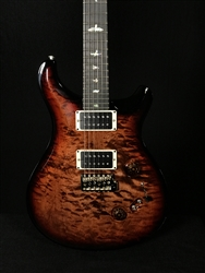 PRS Custom 24-08 in Brown Sugar Burst with Quilt Top and Stained Maple Neck