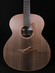 Lowden BAR-50FF Fan Fret Baritone African Blackwood with Sinker Redwood Top