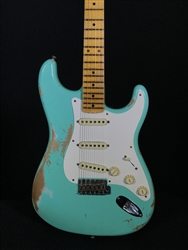 Fender Custom Shop 1956 Heavy Relic Strat in Aged Seafoam Green