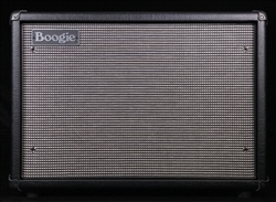 Mesa Boogie Compact 1x12 Widebody Closed Back Cabinet in Black with Tinsel Grille and Celestion Cream
