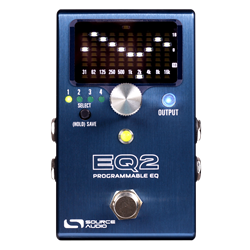 Source Audio EQ2 Programmable Equalizer Pedal