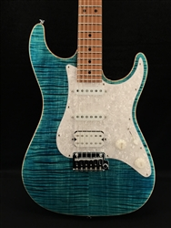 Suhr Standard Plus HSS in Bahama Blue with Maple Fingerboard
