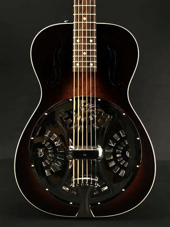 Beard Deco Phonic Model 37 Roundneck Resonator with Fishman Electronics