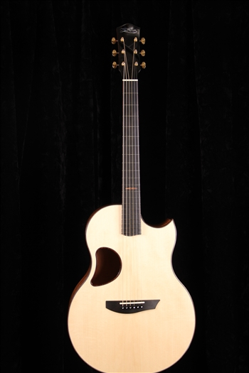McPherson Camrielle 4.0 with Beeswing Mahogany Back and Sides and Red Spruce Top