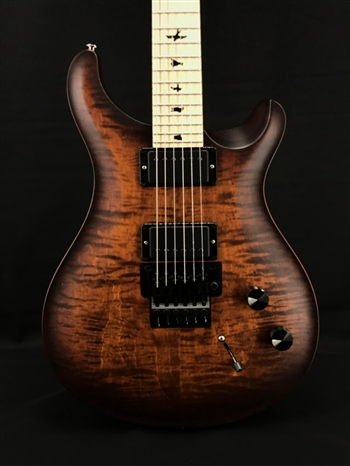 PRS Dustie Waring DW CE24 Floyd Limited Edition in Burnt Amber Smokeburst