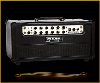 Mesa Boogie Lone Star Classic Medium Chassis Head in Black Taurus