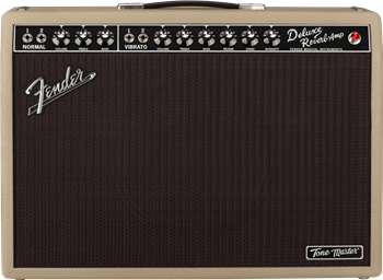 Fender Tone Master Deluxe Reverb Blonde 1x12 Combo
