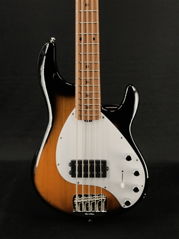 Ernie Ball Music Man Stingray 5 Special H in Vintage Tobacco with Roasted Maple Neck